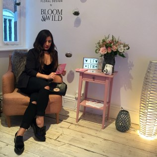 Lookfantastic lounge LFW
