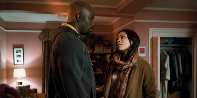 The Defenders Season 1 - Luke and Claire