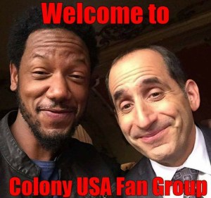 Colony USA Fan Group - Tory Kittles, Peter Jacobson