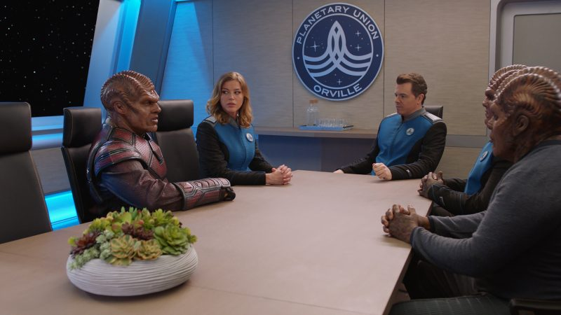The Orville 103 - About A Girl - Bridge Crew