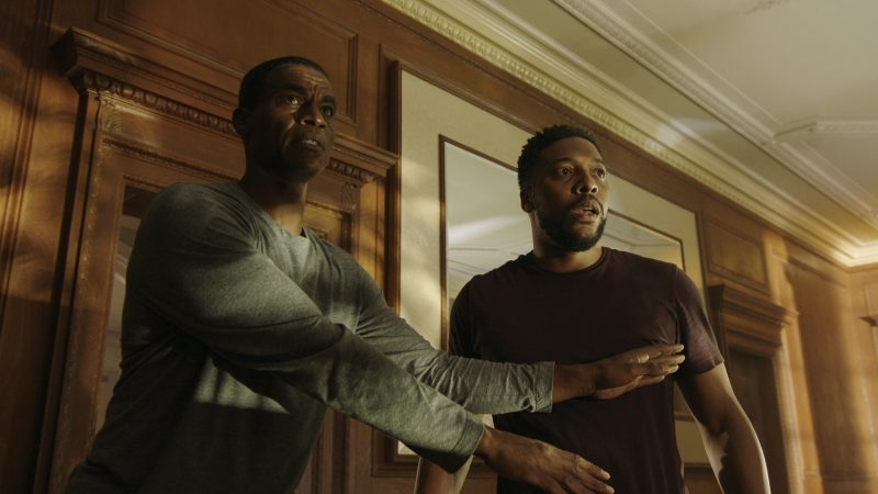 The Last Ship 408 - Lazaretto - Jeter (Charles Parnell) and Burk (Jocko Sims)
