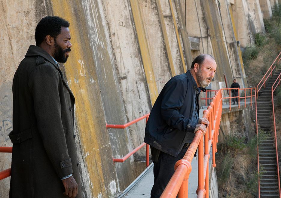 Victor Strand (Colman Domingo) and Daniel Salazar (Ruben Blades) in Episode 15 Fear The Walking Dead season 3 Photo credit: Richard Foreman Jr/AMC