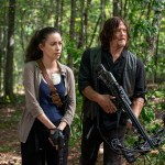 Rosita Espinosa (Christian Serratos) and Daryl Dixon (Norman Reedus) in Episode 11 The Walking Dead Photo by Gene Page/AMC