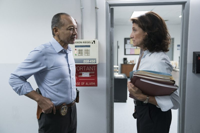 """Bosch: Season 4"" - Amy Aquino and Paul Calderón in Season 4 of Bosch"