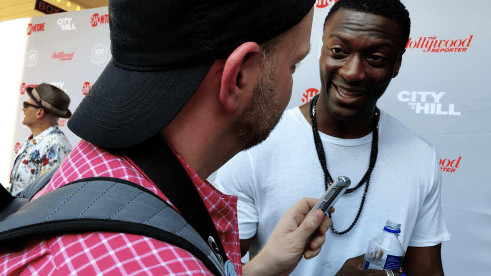 Interview with Aldis Hodge from ATX 2019!
