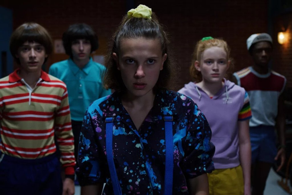 Stranger Things 303 + 304: Elle and the gang face off against a henchman.