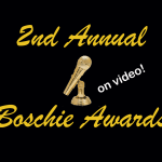 The Boschie Awards Video and You Could Win an Everybody Counts T-Shirt!
