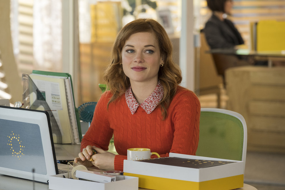 """ZOEY'S EXTRAORDINARY PLAYLIST -- """"Pilot"""" Episode 101 -- Pictured: Jane Levy as Zoey -- (Photo by: James Dittiger/NBC)"""