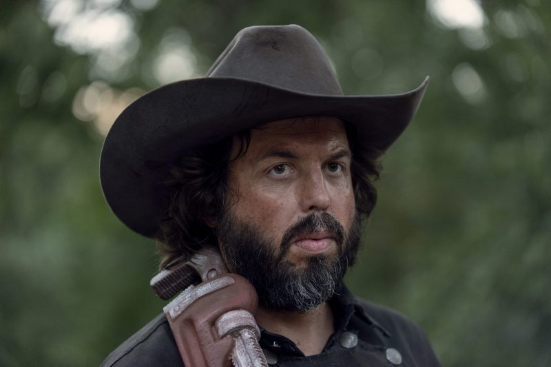 Angus Sampson as Ozzy- The Walking Dead _ Season 9, Episode 13 - Photo Credit: Gene Page/AMC