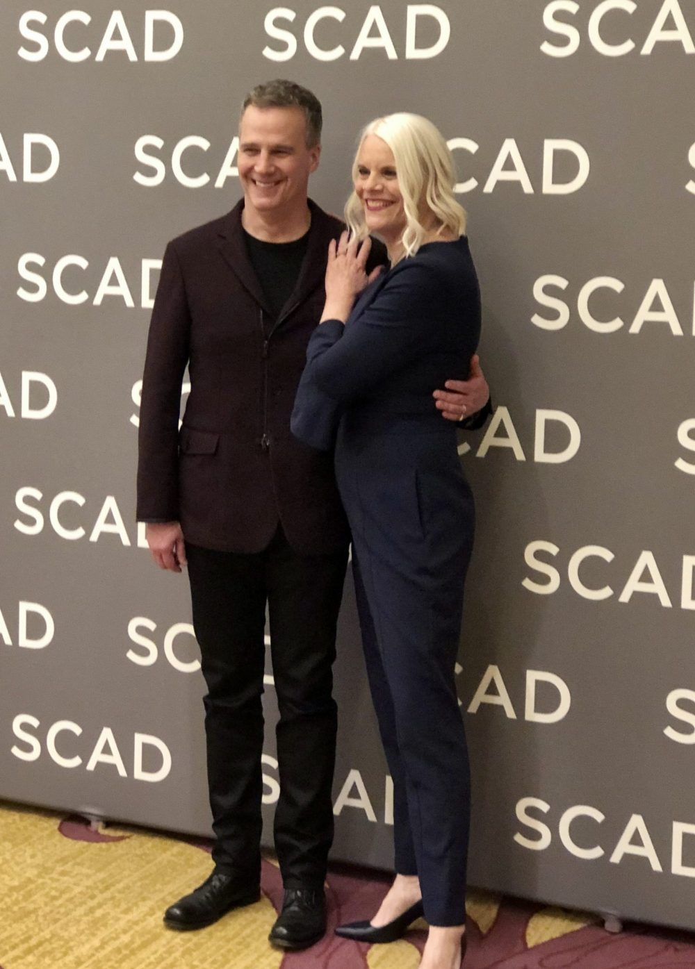 Council of Dads showrunners Tony Phelan and Joan Rater at SCAD aTVfest 2020 photo credit: Tracey Phillipps/So Many Shows