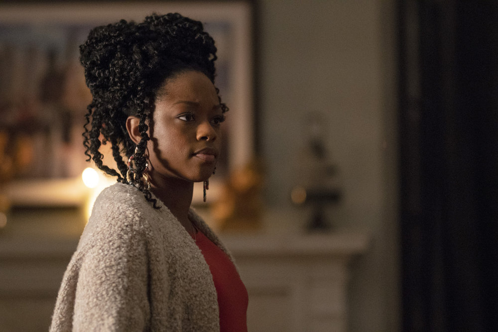 """COUNCIL OF DADS -- """"Stormy Weather"""" Episode 109 -- Pictured: Jazz Raycole as Sage -- (Photo by: Seth F. Johnson/NBC)"""
