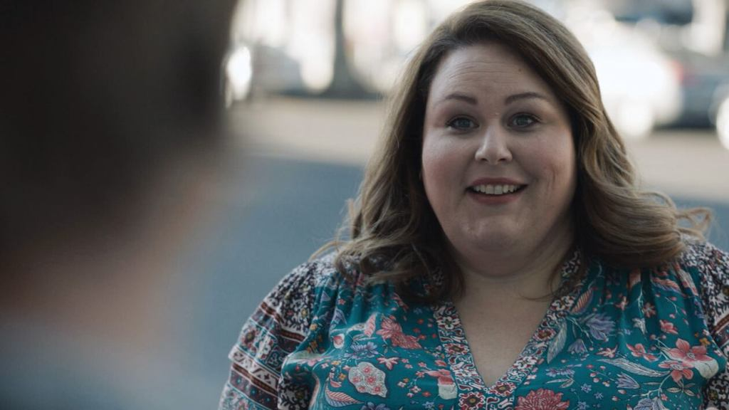 """THIS IS US -- """"A Long Road Home"""" Episode 505 -- Pictured in this screen grab: Chrissy Metz as Kate -- (Photo by: NBC)"""