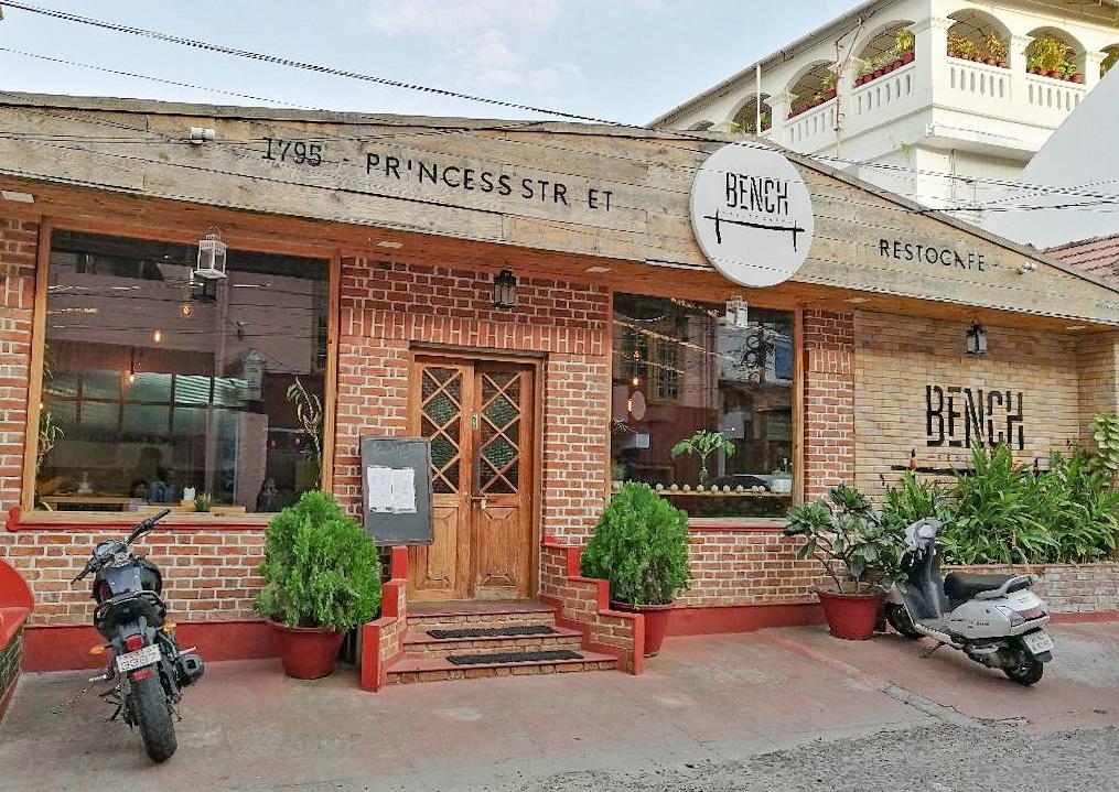 Cafe at Princess Street, Old Kochi