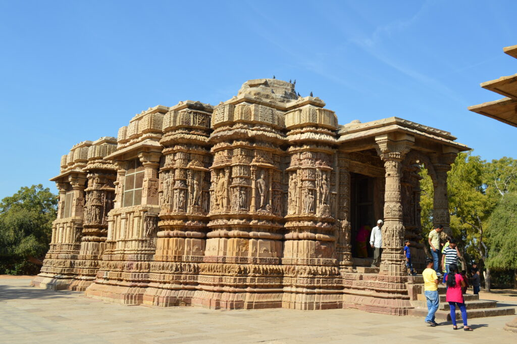 Mukhya Mandir of Modera Sun Temple, Gujarat