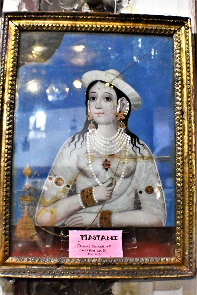 Mastani Portrait in Aina Mahal, Bhuj