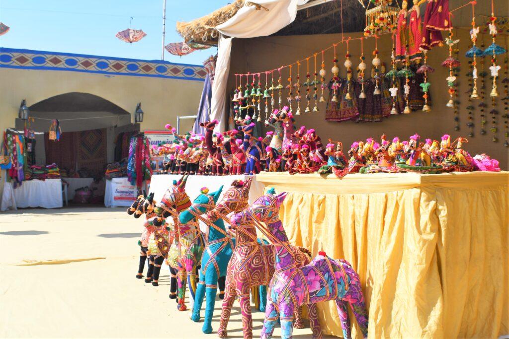 Stall at Haat, Rann Utsav