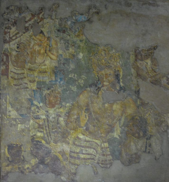 Bodhisattva Vajrapani, Cave 1 Ajanta
