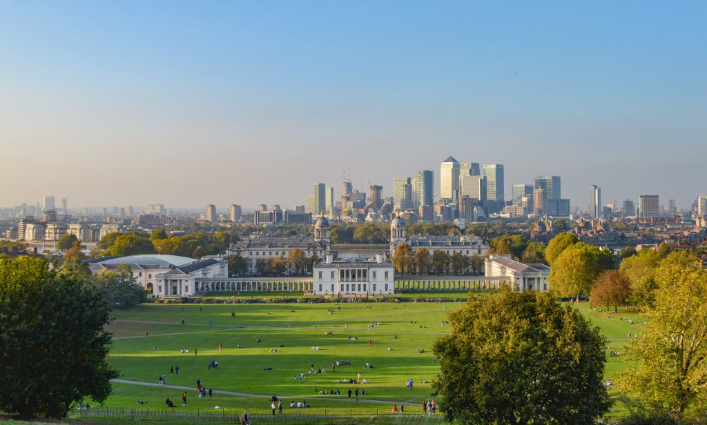 View-from-Hill-in-Greenwich-Park-Greenwich
