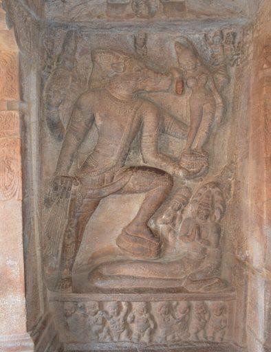 Naravaraha (Vishnu's boar avatar), Cave 2, Badami