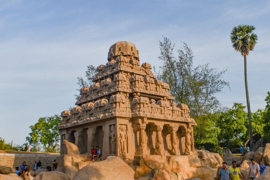 Dharmaraja-Yudhisthirs-Ratha-Mahabalipuram