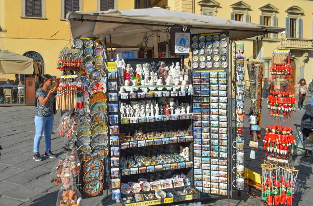 Souvenir Shops, Florence