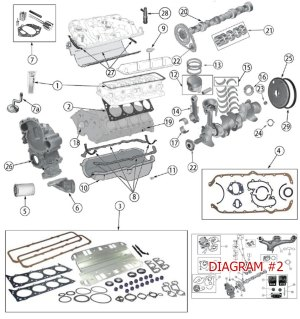 Diagrams For Jeep :: Engine Parts :: AMC V8 Engine