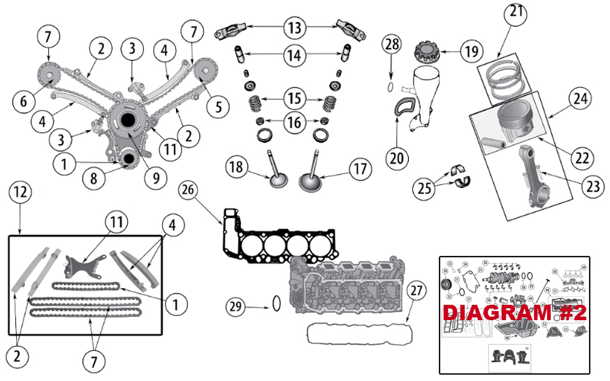 Diagrams For Jeep :: Engine Parts :: 4.7L Engine