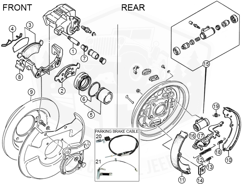 Diagrams For Suzuki :: Brake Parts