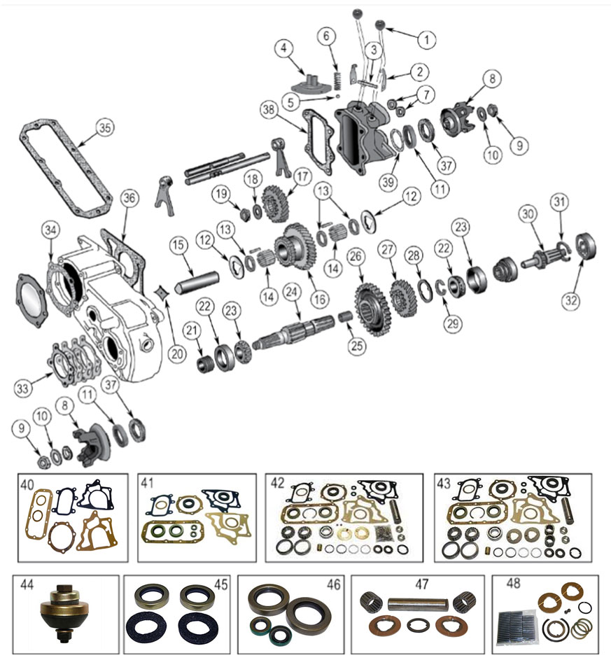 medium resolution of dana 18 transfer case vintage