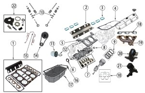 Diagrams For Jeep :: Engine Parts :: 38L Engine