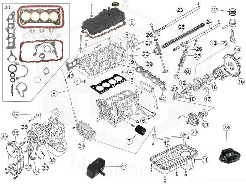 Diagrams For Suzuki :: Engine Parts