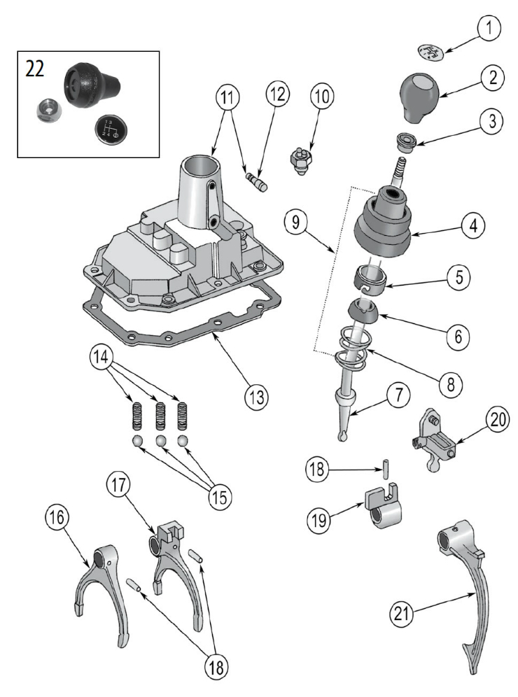 Diagrams For Jeep :: Transmission Parts :: T176 & T177