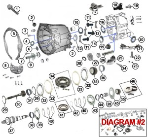 Diagrams For Jeep :: Transmission Parts :: Transmission