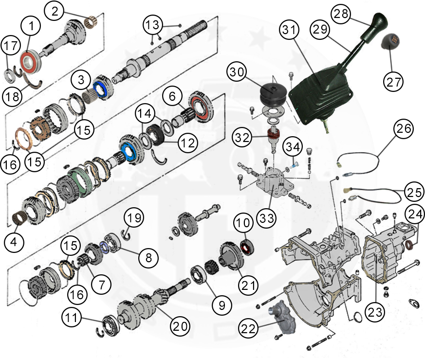 Diagrams For Suzuki :: Transmission Parts
