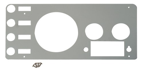 small resolution of accessories stainless steel 1941 1986 jeep cj gauge cover polished stainless steel for cj5 cj7 cj8 scrambler