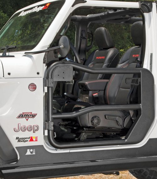 small resolution of rugged ridge front tube doors 2018 jeep wrangler jl unlimited jl