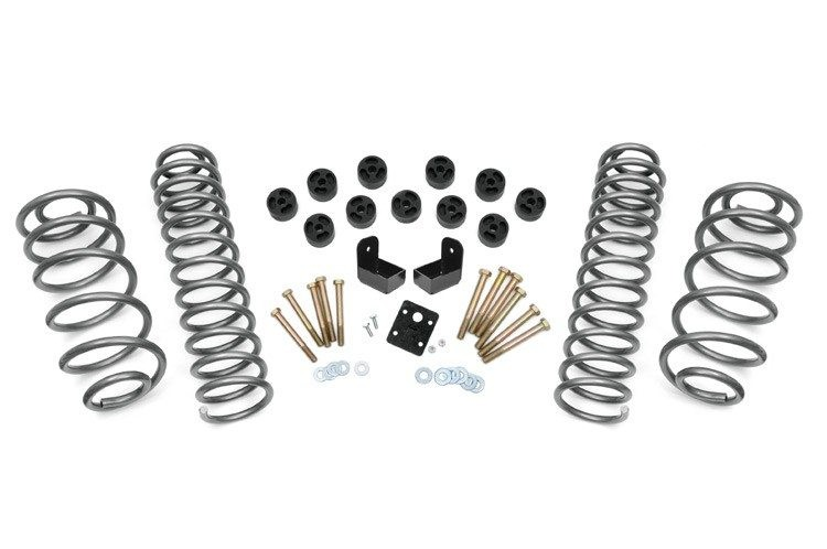 Rough Country 3.75IN Jeep Combo Lift Kit; 1997-2006 Jeep