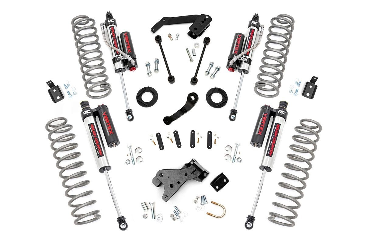 Rough Country 4IN Jeep Suspension Lift Kit Vertex