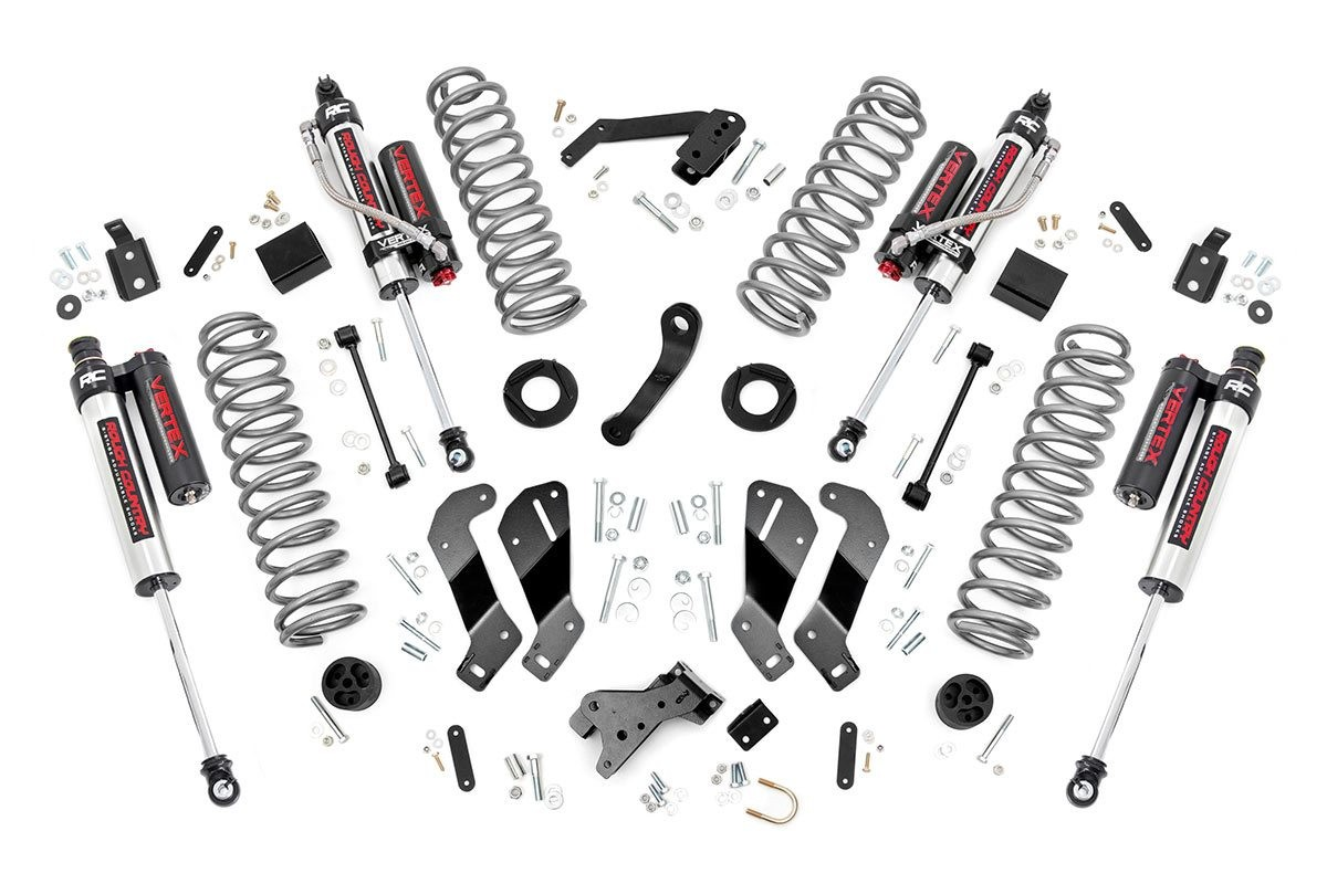 Rough Country 3.5IN Jeep Suspension Lift Kit, Control Arm