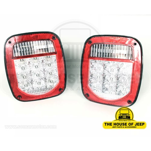 small resolution of diagrams for jeep lamps light systems jeep cj lights tail lamp led w clear lens jeep cj s 1975 1985 jeep wrangler yj 1987 1995 left right