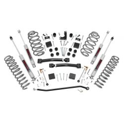 Rough Country 4IN Suspension Lift Kit; 1999-2004 Jeep