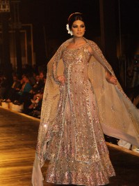 silver & white indian wedding dress | Fashion by Soma Sengupta