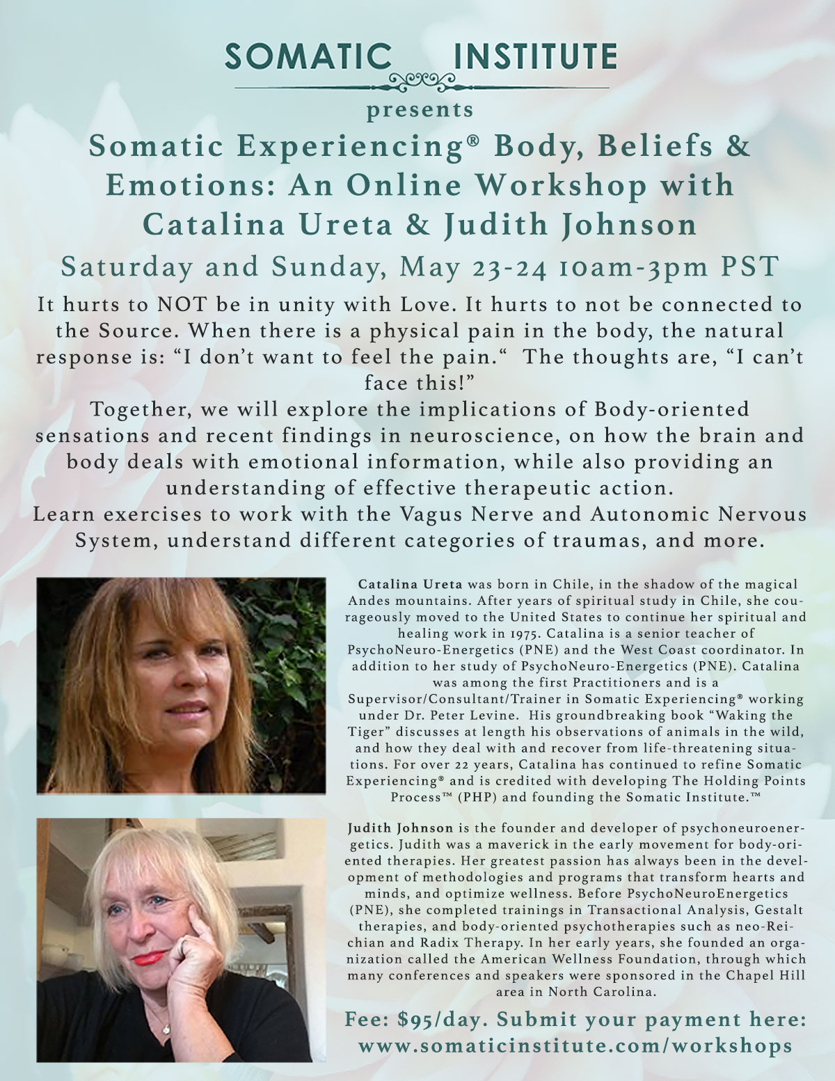 Somatic Experiencing® Body, Beliefs & Emotions