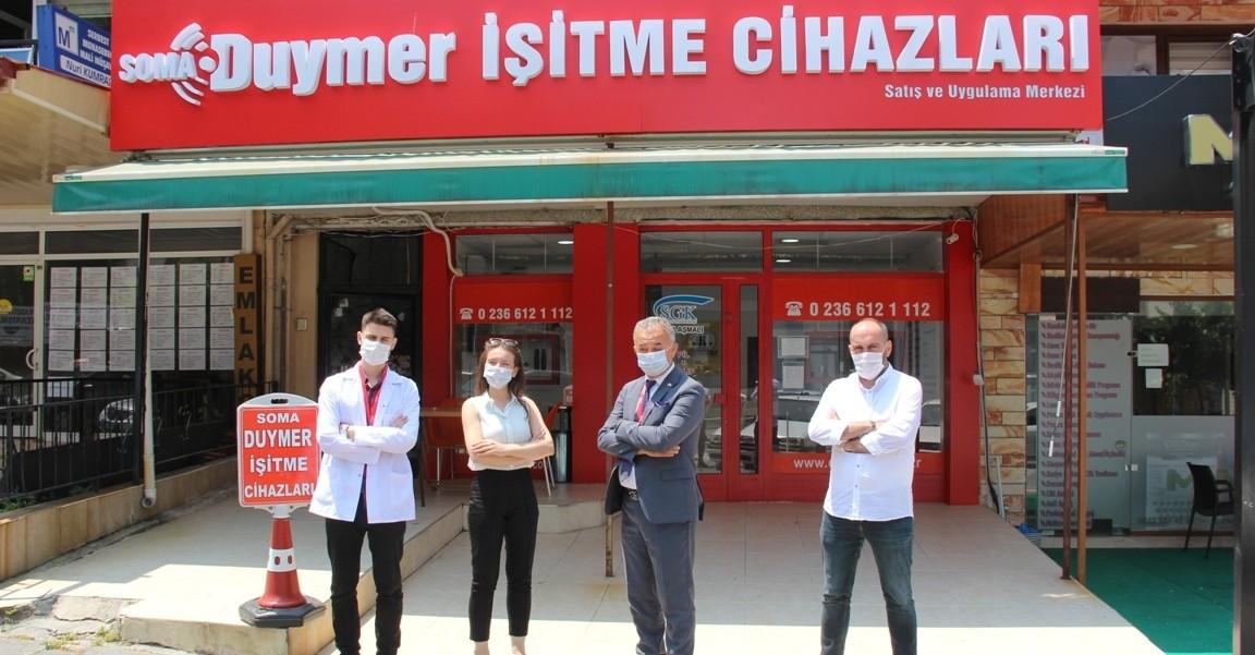 Soma Duymer İşitme Cihazları Hizmetinizde