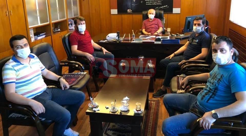 Kömürcüler ELİ'ye sorunlarını iletti
