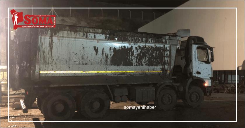 Maden sahasında kamyonun altında kalan işçi hayatını kaybetti