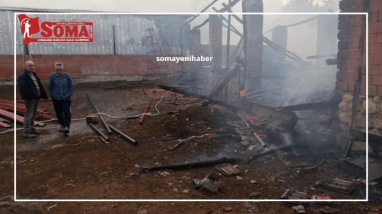 Çerkez Hamidiye'de yangın korkuttu