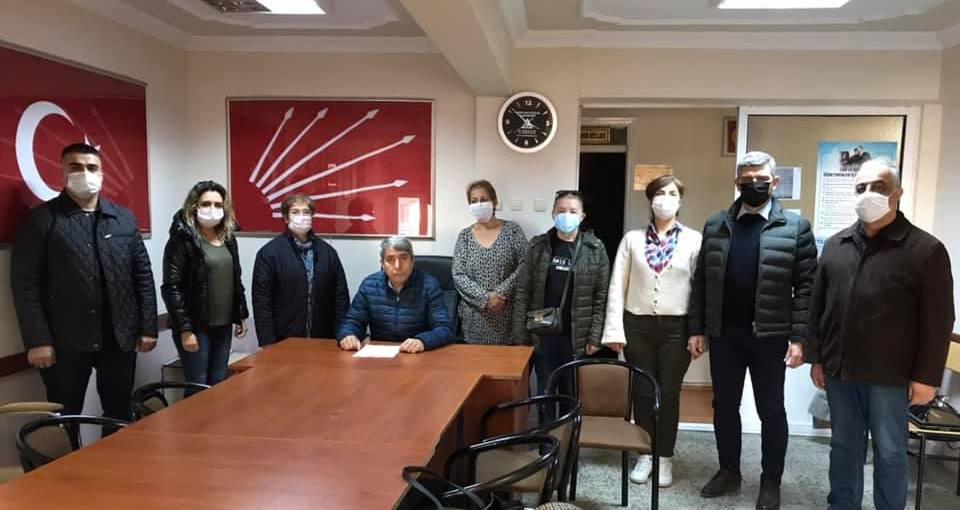 Soma CHP, ilçe binasını geçici olarak kapattı