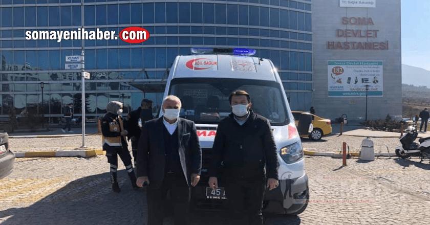 Soma'ya yeni 112 ambulansı