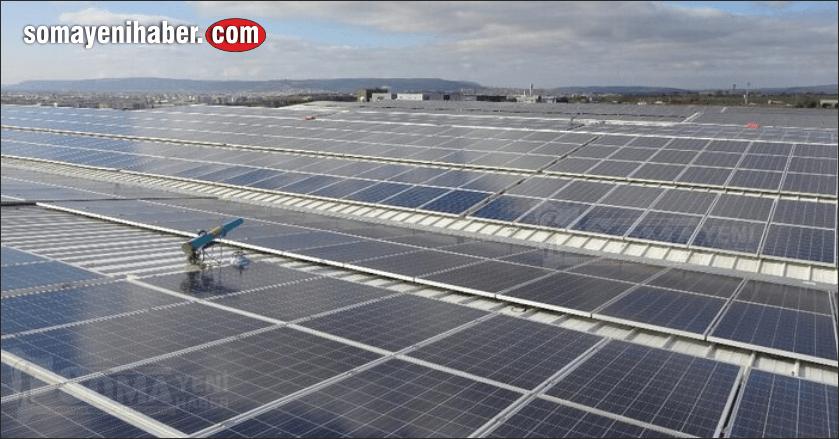 TKİ'nin ilk güneş enerjisi santrali Soma'da kuruldu